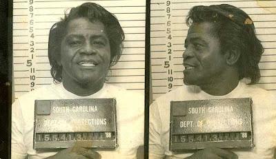 James Brown, James Brown Arrested