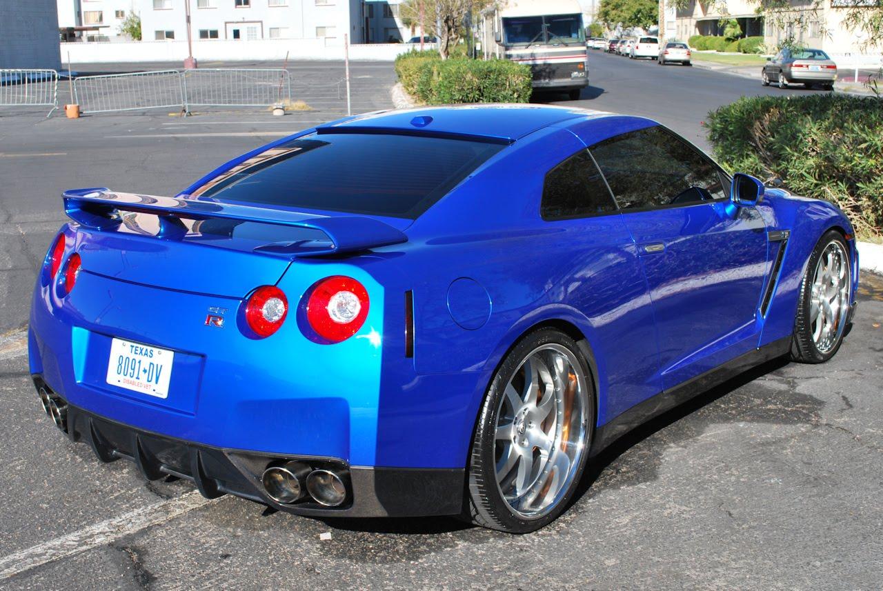 World Premiere Of Blue Nissan Gt R R35 Blue Gtr