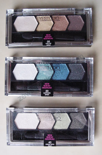 Maybelline Eyestudio Quad
