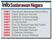 INFO SASTERAWAN NEGARA