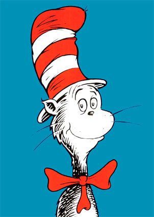 cat in hat hat. dr seuss cat in hat clipart.