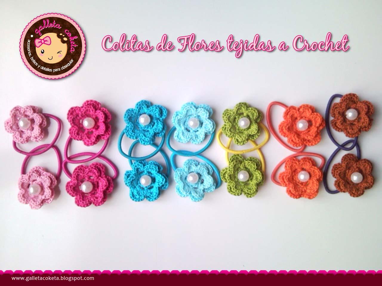 mas recientes! tejidas a crochet con hilos de algodon,hermosas flores ...