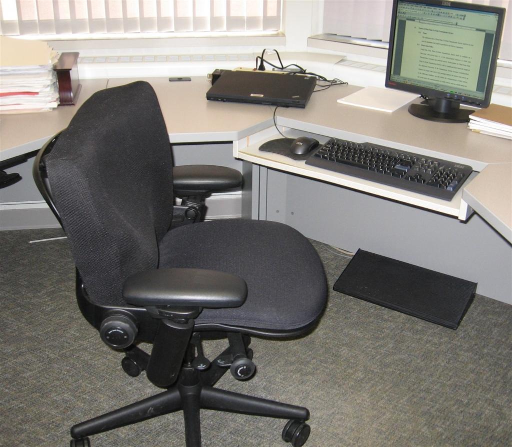 DC Power: Custom Office Chair