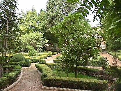 Sombras de tinta el carmen de los m rtires iii sus for Diseno jardin mediterraneo