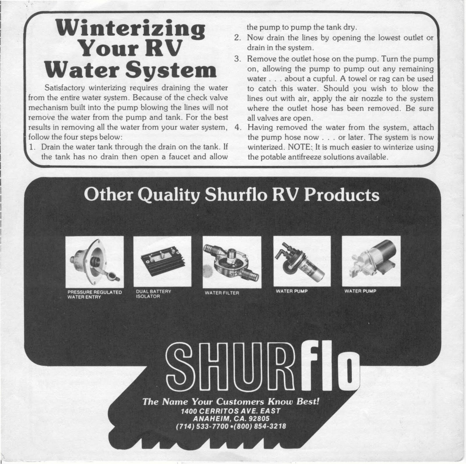 1983 fleetwood pace arrow owners manuals shurflo model series 200 shurflo model series 200 fresh water pump pooptronica
