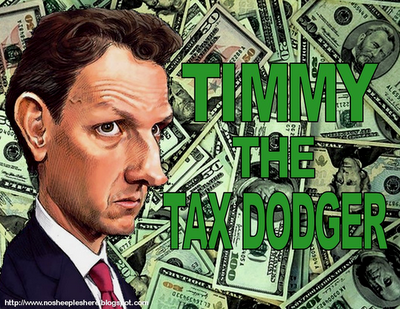 Tim Geitner blamed turbo tax