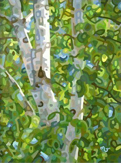 budanART: Summer Birches