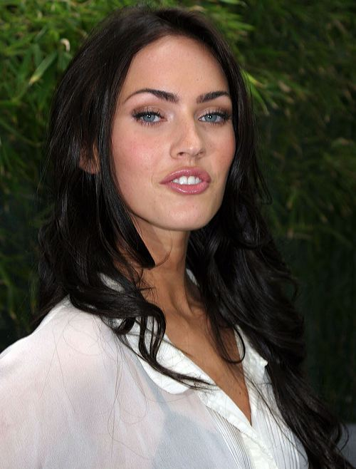 megan fox hairstyles with bangs. megan fox makeup products