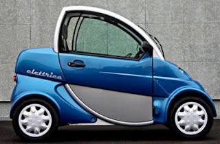 Elettrica electric Car lithium ion