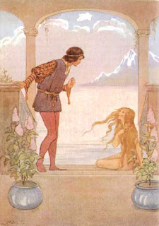 Sirenita y príncipe