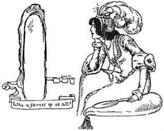 Madrastra y espejo