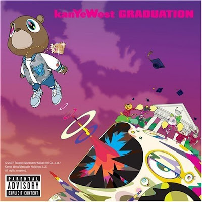 kanye west graduation album cover art. kanye west graduation album.