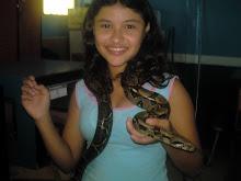 Danna y la serpiente
