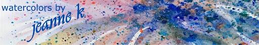 watercolors by jeanne k