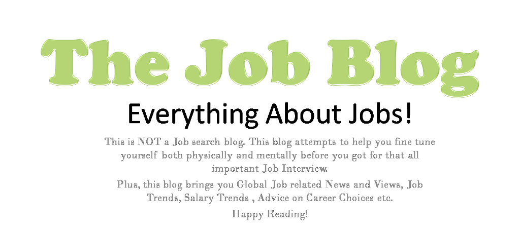 The Job Blog