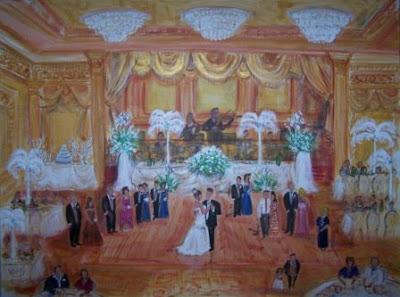 Wedding Reception Sites on Painted A Beautiful Armenian Wedding Reception Held At The Lavishly