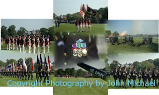 Sampler of 7 photos+copyright Tour of Fort Myer and Arlington National Cemetery...