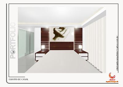 Design Interiores on 3d  Design De Interiores   Quarto De Casal   Perspectivas Em 3d