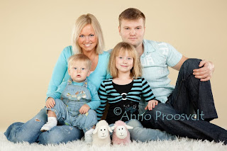 pere fotostuudios pildistamas. Fotostuudio  Fotopesa Tallinnas