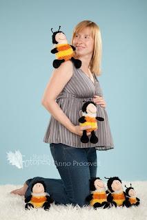 beebiootel naine mesilastega