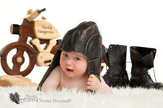 Fotostuudio  Fotopesa myts ja beebi