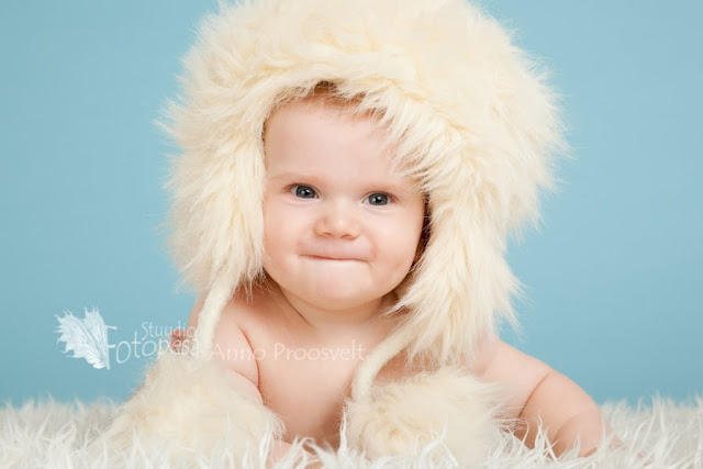 portree, poiss karvamütsiga