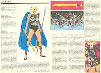 Valquiria (Ficha de Marvel)