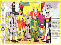 Legion de Super Heroes Sustitutos