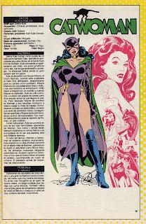 Mujer Gato Catwoman Comics