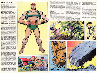 Hercules Ficha marvel comics