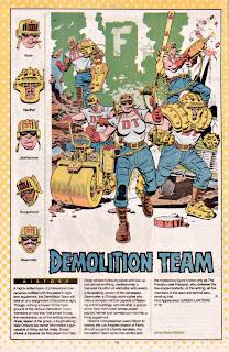 Escuadra de Demolicion (Linterna Verde)