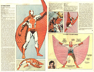Mantarraya (Ficha Marvel)