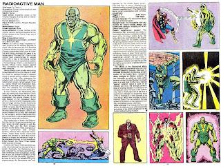 Hombre Radiactivo (ficha marvel comics)