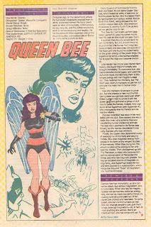 Reina Abeja (ficha dc comics)