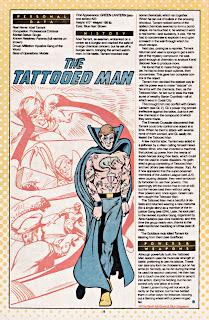 Hombre Tatuado (ficha dc comics)