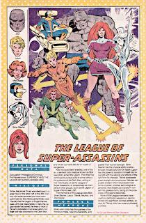 Liga de Super Asesinos (ficha dc comics)