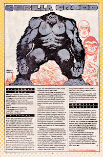 Gorila Grood (ficha dc comics)