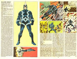 Rayo Negro (ficha marvel comics)