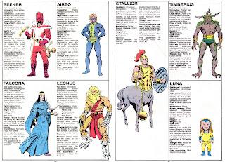 Inhumanos (ficha marvel comics)
