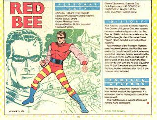 Abeja Roja (ficha dc comics)
