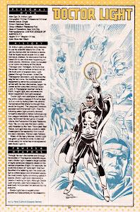 Doctor Luz ficha dc comics