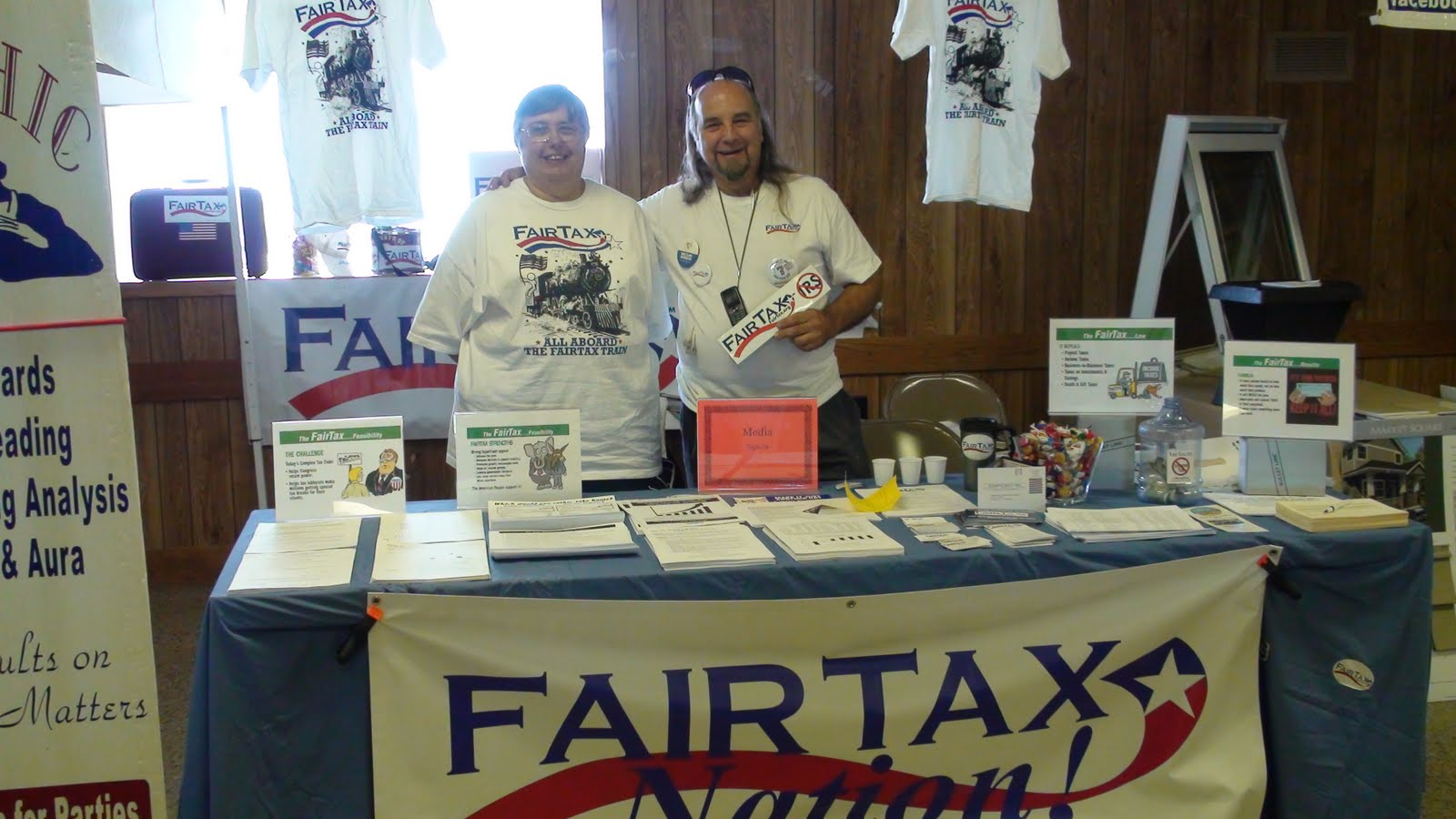 Illinois will county peotone - Fair Tax Nation Reaches Out To Citizens At The 107th Will County Fair In Peotone Illinois