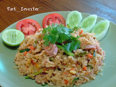 Fermented pork fried rice