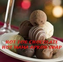 Hot Mama&#39;s Hot for Chocolate Apron Swap