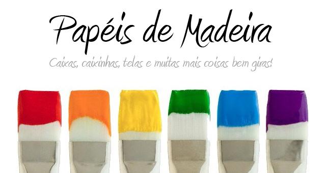 Papéis de Madeira