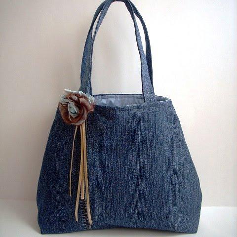 Not Just Handbags Upcycled Jeans Handbag u0026 Featured on UK Handmade