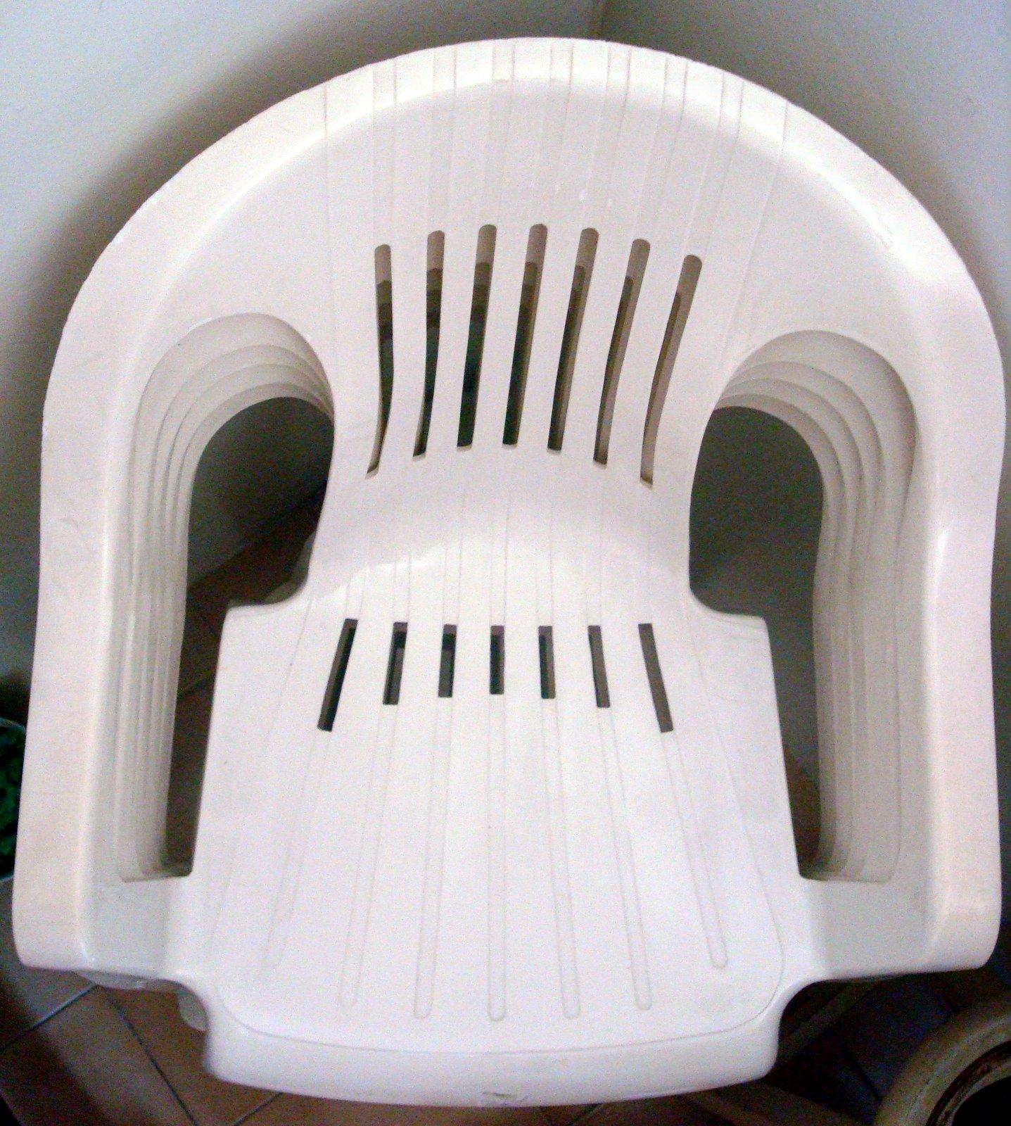 Bazar Cad: Cadeiras de Plástico (4 unidades) #5C493F 1437x1600