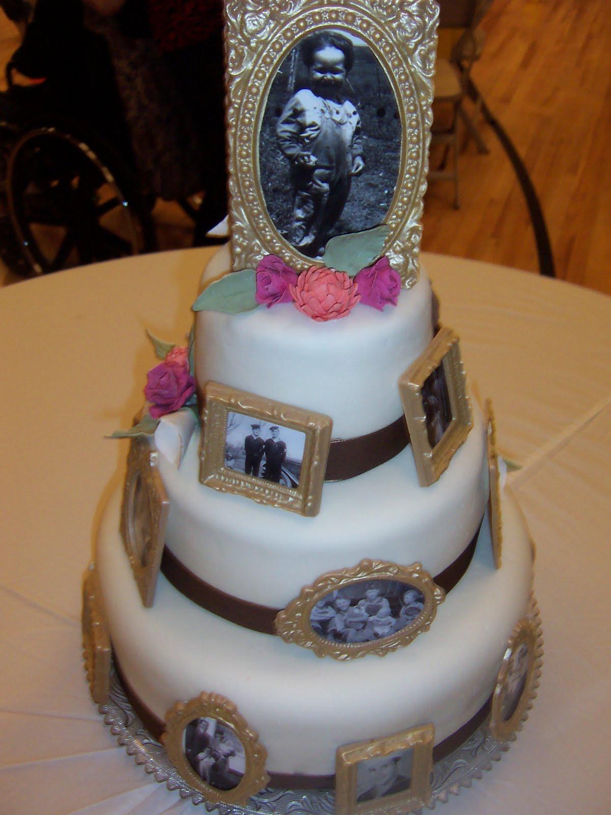 Ambers Birthday Creations: Grandpas 90th Birthday Cake/Party