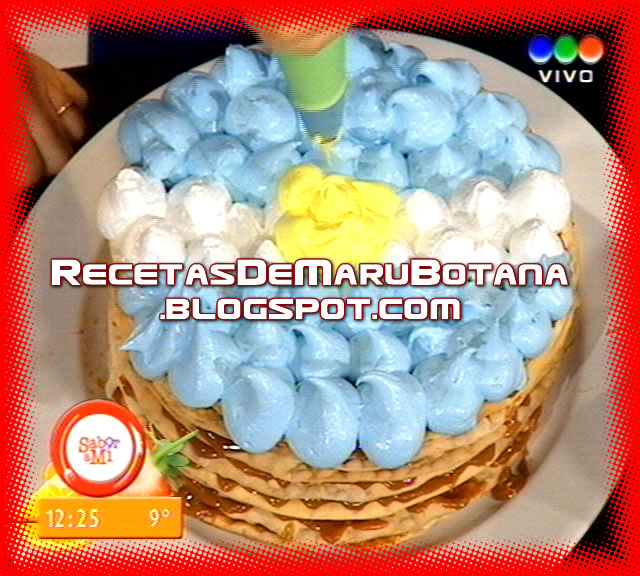 Torta de Chocolate Maru Botana Maru Botana Hizo Una Torta