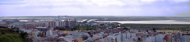 Panorámica desde El Conquero en Huelva